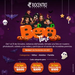 Boo Time! Halloween en Riocentro Shopping