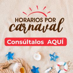 Horarios Feriado Carnaval
