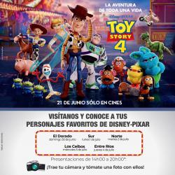 Visítanos y conoce a tus personajes favoritos de Disney•Pixar