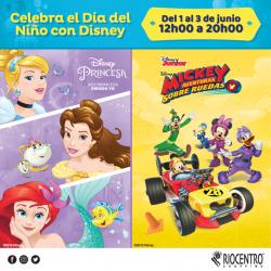 Celebra el día del niño con Disney