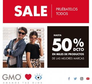 Visita GMO y aprovecha hasta el 50%