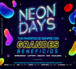 NeonDays de JuanMarcet